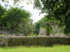 Certains édifices, toujours cachés dans la verdure, nous permettent de les découvrir avec délices. Chichen Itzà, Yucatán, Mexique.