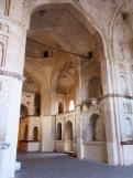 L'intérieur du majestueux temple Chaturbhuj, situé au coeur de la ville de Orchha, Inde.