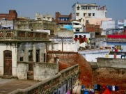 Les toits de Varanasi, une belle façon de voir la ville autrement, Inde