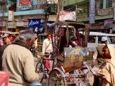 Dans le vieux quartier Chowk, Varanasi. Inde.