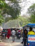 Entre octobre et mars, Bodh Gaya accueille des milliers de pèlerins, Inde.