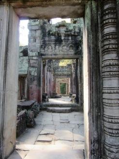 Preah Khan, l'un des plus beaux temples d'Angkor, Siem Reap, Cambodge.