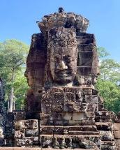 Certaines structures du Bayon sont mieux conservées et prêtent à la rêverie. Pas étonnant que ce temple soit l'un de nos préférés. Angkor Thom, Siem Reap, Cambodge.