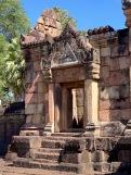L'une des entrées du Prasat Muang Tham. Isan, Thaïlande.
