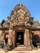 Les linteaux du Prasat Phanom Rung ne cessent de nous émerveiller. Isan, Thaïlande.